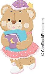 teddy beer, boek