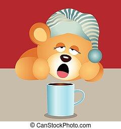 teddy beer, het ontwaken