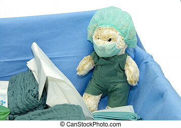 teddy doctor