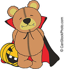 teddy dracula01 - teddy dracula in vector format