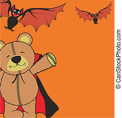 teddy halloween