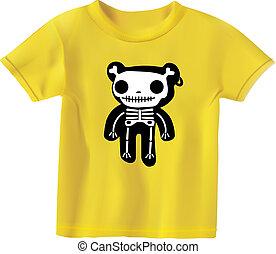 Teddy in bones