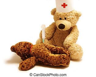 Teddy- medic
