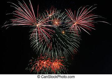 teddybear fireworks