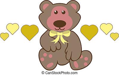 Teddybear Toy Illustration
