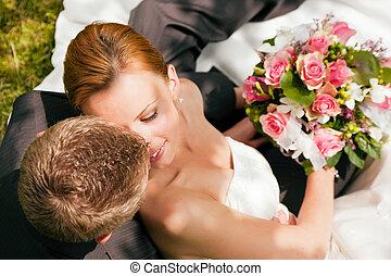 tederheid, -, trouwfeest