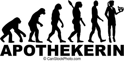 tedesco, evoluzione, farmacista, femmina