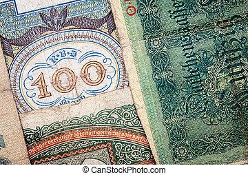 tedesco, soldi, vecchio