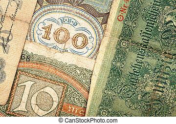 tedesco, vecchio, soldi