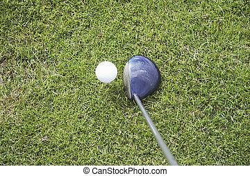 tee-up the golf ball 01