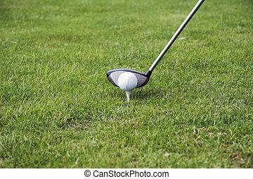 tee-up the golf ball 02
