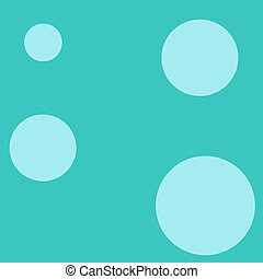 Teel Dots Background - Colorful Background. Great for...
