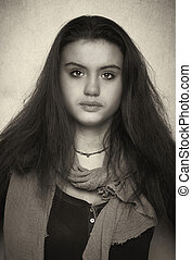 teen ager portrait
