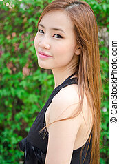 Teen Asian girl