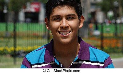 Teen Boy Smile