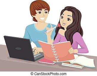 Teen Couple Study