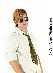 Teen fashion portrait