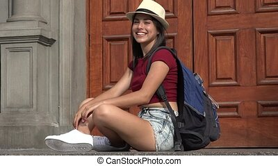 Teen Female Student