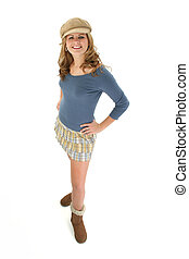 Teen Girl Blonde