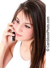 Teen Girl Cellphone