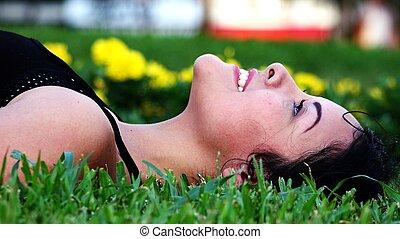 Teen Girl Daydreaming