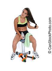Teen Girl Exercise