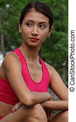 Teen Girl Fitness Jogger