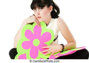 Teen Girl Flower