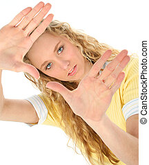 Teen Girl Hands
