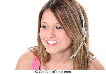 Teen Girl Headset