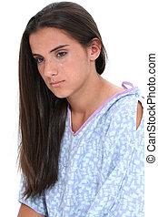 Teen Girl Hospital