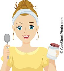 Teen Girl Oil Pulling Natural Home Remedies
