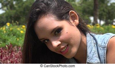Teen Girl Outdoors