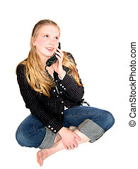Teen Girl Phone