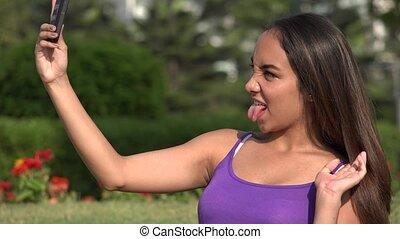 Teen Girl Selfy