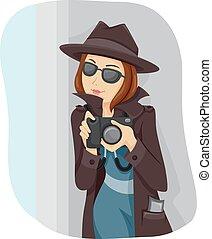 Teen Girl Spy