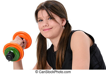 Teen Girl Weights