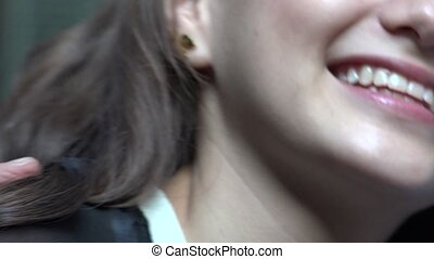 Teen Girl With Lollipop