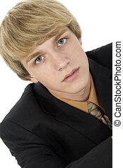 Teen in Suit