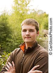Teen Male Portrait