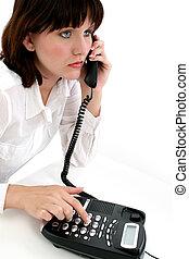 Teen on Telephone