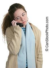 Teen Phone - Angry