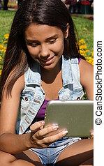 Teen Reading Tablet