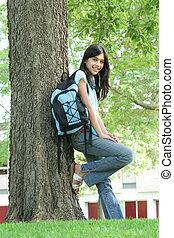 Teen ready for School