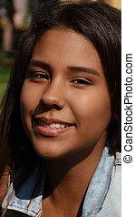 Teen Smiling Girl