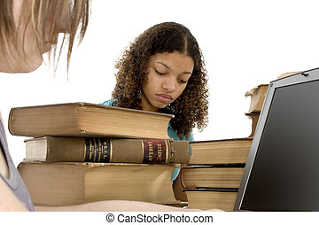 Teen Study Session - Copyright on books has expired.......