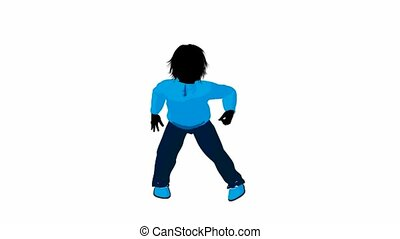 Teen Urban Male Dancing - Teen urban male dressed in casual ...