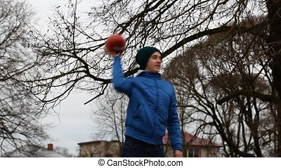 Teen with rugby ball episode 2