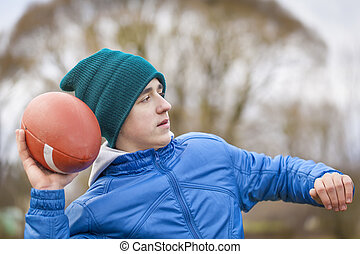 Teen with rugby ball episode 3