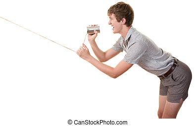 teen in bakasana posture young caucasian man in bakasana
